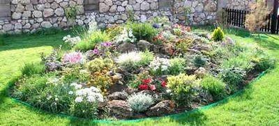 Альпийская горка: миниатюрный горный сад
