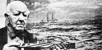 Боевые корабли маскировались ослепительной живописью