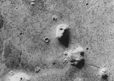 Череп-гора пришёлся на марсе к лицу