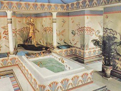 Египетский стиль в интерьере, яркий и узнаваемый