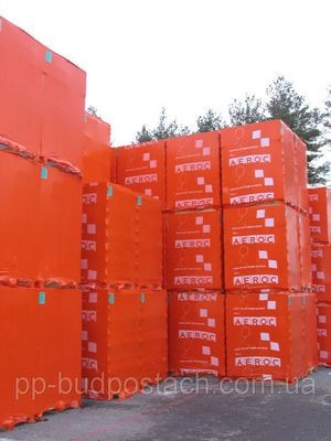 Газобетонные блоки - легкость и тепло