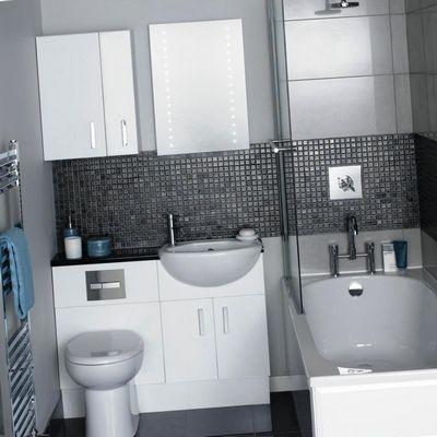 Интерьер ванной комнаты: мозаика