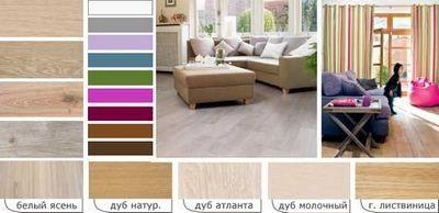 Мебель из беленого дуба: особенности использования в интерьере