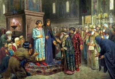 Почему михаила романова избрали царем