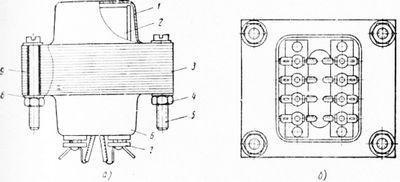 Сборка трансформаторов и дросселей низкой частоты