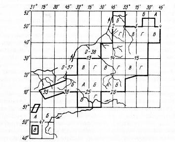 Составление картографических материалов и таксационного описания
