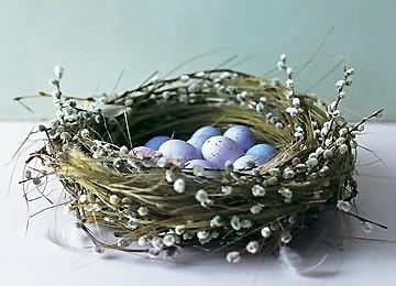Совет 1: как сплести гнездо в 2017 году