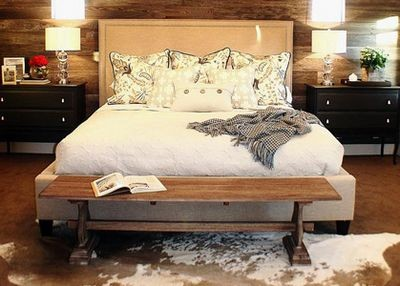 Спальня в загородном стиле – элементы, необходимые для создания уютной комнаты