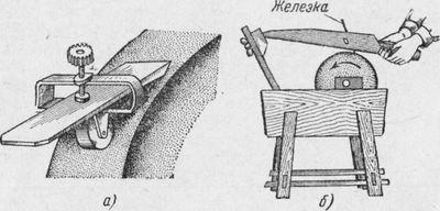 Заточка и наладка строгального инструмента